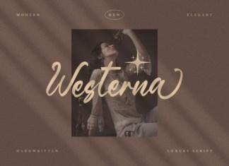 Westerna Font