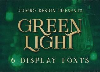 Green Light Font