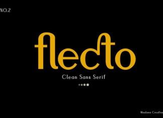 Flecto Clean Sans Serif Font