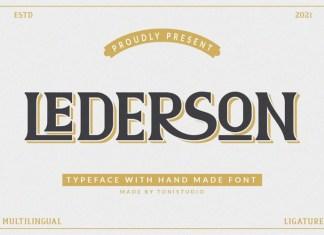 LEDERSON Font