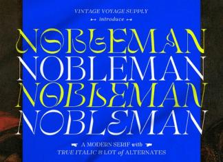 VVS Nobleman Font