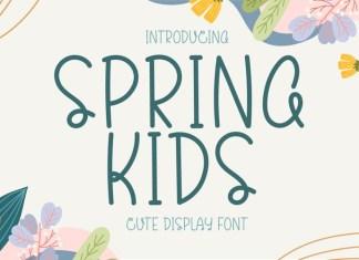 Spring Kids Font