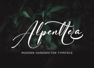 Alpenttera Font