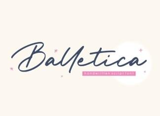 Balletica Font