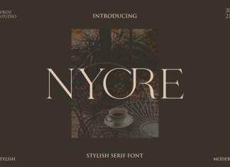 Nyore Font