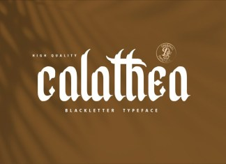 Calathea Font