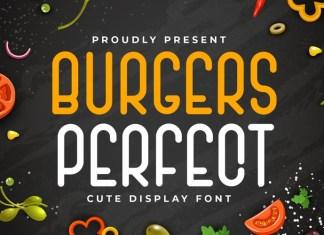 Burgers Perfect Font