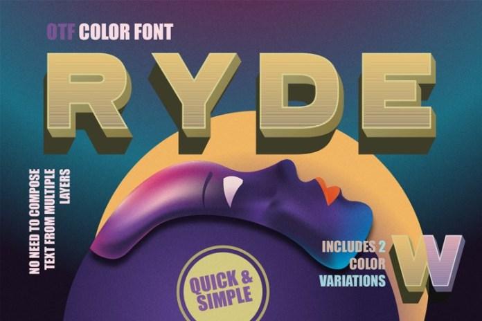 Ryde Font
