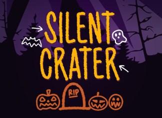 Silent Crater Font