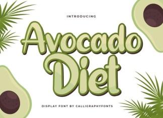Avocado Diet Font