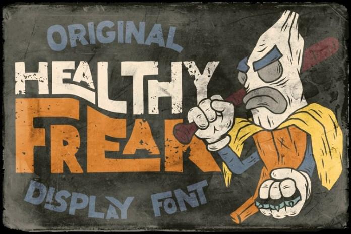 Healthy Freak Font