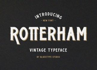 Rotterham Font