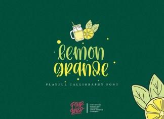Lemon Grande Font