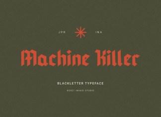 Machine Killer Font