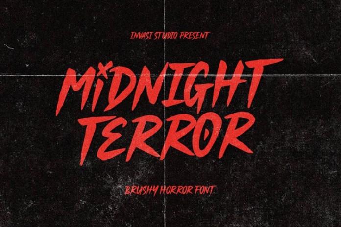Midnight Terror Font