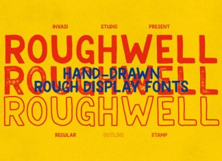 Roughwell Family Font