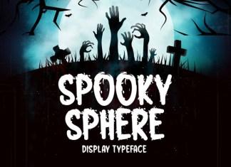 Spooky Sphere Font