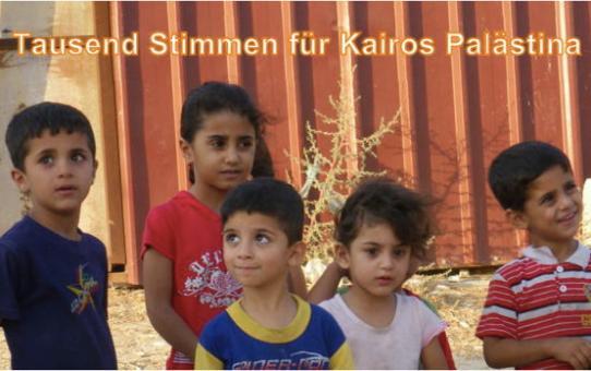 Kairos Palästina Aufruf den Schweizer Kirchen übergeben
