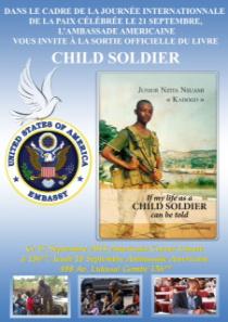 Livre  « Si ma vie d'enfant soldat pouvait être racontée »