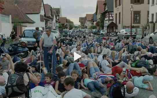 Résistance nonviolente en Alsace sur RTS Faut pas croire