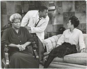Claudia McNeil, Sidney Poitier and Diana Sands (original Broadway produciton)