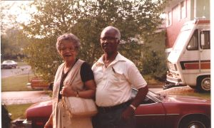 Benny and Dorothy McIntyre. They were married for 62 years.