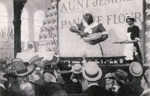 Aunt Jemima at 1893 Expo-Ladies Home Journal