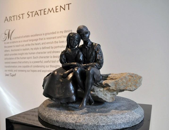 EARG sculpture by Vinnie Bagwell