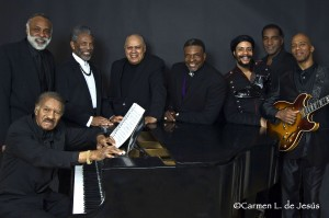 """The Black Stars of The Great White Way! The Black Stars of The Great White Way Frank Owens, Chapman Roberts, Andre De Shields, Larry Marshall, Keith David, Omar Edwards, Norm Lewis and Keith Robinson. """"This is an unprecedented assemblage of Broadways Best as conceived and directed by Chapman Roberts"""