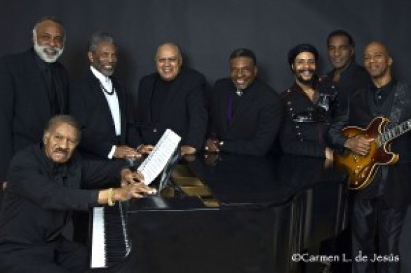 "The Black Stars of The Great White Way! The Black Stars of The Great White Way Frank Owens, Chapman Roberts, Andre De Shields, Larry Marshall, Keith David, Omar Edwards, Norm Lewis and Keith Robinson. ""This is an unprecedented assemblage of Broadways Best as conceived and directed by Chapman Roberts"
