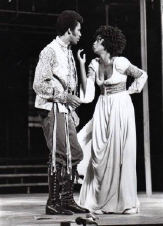 Clifton Davis and Jonelle Allen.