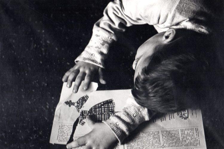 Frank Espada- Jason with Torn Paper