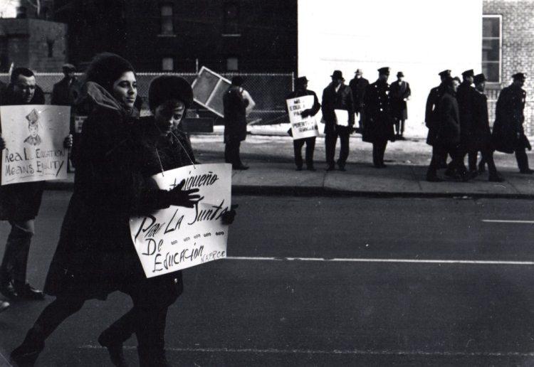 Frank Espada- School Boycott, New York, 1964