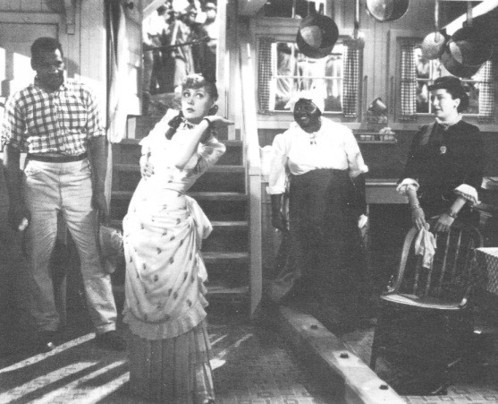 Hattie McDaniel and Paul Robeson in the musical Showboat