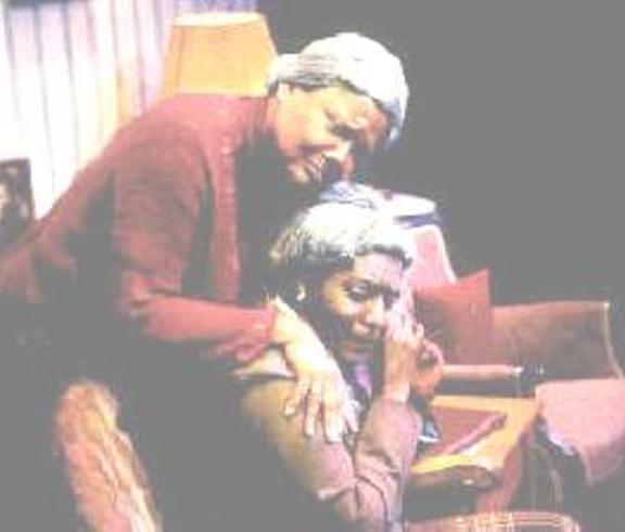 """Having our say"" at the Saint Michael's Playhouse directed by Mark Nash, Venida Evans and Gloria Sauvé"