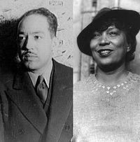 Langston Hughes and Zora Neale Hurston