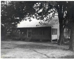 Mose Wright's home.