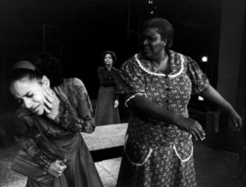 Debbie Allen, Ernestine Jackson, and Virginia Capers in a scene from the show (Photo: Martha Swope)
