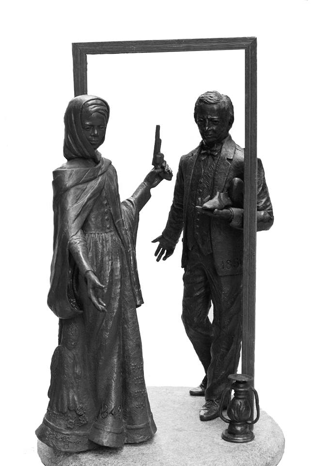 Vinnie Bagwell YOU DON'T KNOW SOMEONE ...until you know what they want. (Harriet Tubman and abolitionist Thomas Garrett)