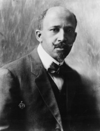 """William Edward Burghardt """"W. E. B."""" Du Bois (pronounced /duːˈbɔɪz/ doo-boyz; February 23, 1868 – August 27, 1963) was an American sociologist, historian, civil rights activist, Pan-Africanist, author and editor. Born in Great Barrington, Massachusetts, Du Bois grew up in a relatively tolerant and integrated community. After graduating from Harvard, where he was the first African American to earn a doctorate, he became a professor of history, sociology and economics at Atlanta University. Du Bois was one of the co-founders of the National Association for the Advancement of Colored People (NAACP) in 1909.-From Wikipedia, the free encyclopedia"""