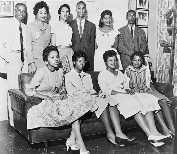 "The Little Rock Nine ~ ""It was supposed to the beginning of a new school year–a season charged with expectation and optimism, not a time to be caught in other people's petty, stale, yet violent wars."""