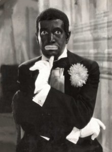 """AL JOLSON is a travelling minstrel in the classic 1930 film musical """"MAMMY""""."""