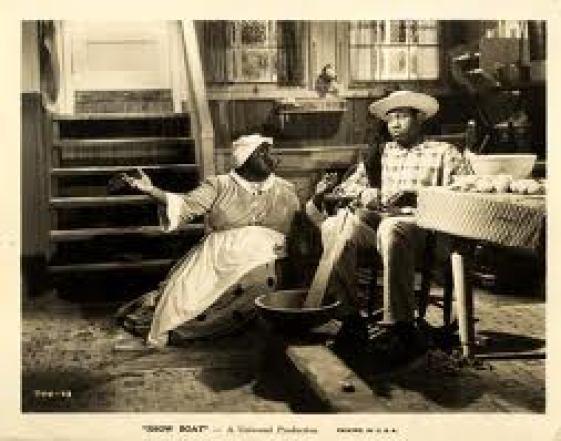 Hattie McDaniel and Paul Robeson