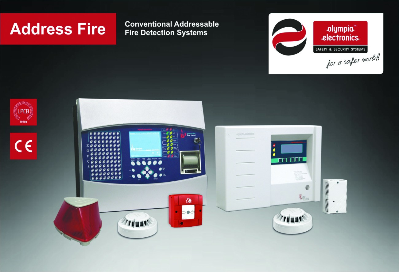 Olympia Electronics – Analogue Addressable Fire Detection Systems