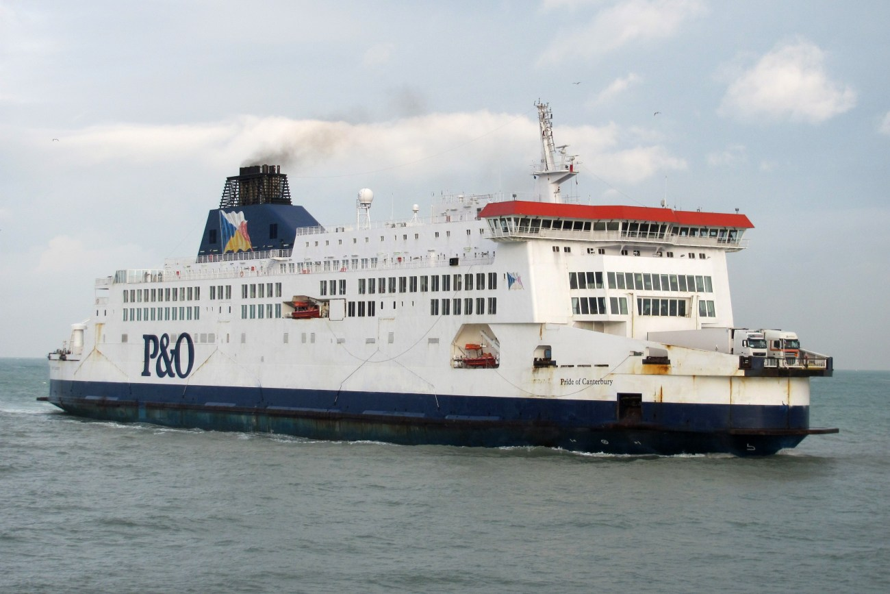 Sprinklers Suppress European Cross-Channel Ferry Fire P&O Pride of Canterbury