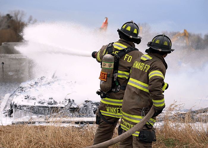 Firefighting Foam – Making Water Wetter
