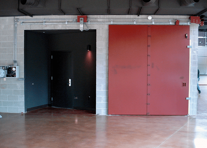 Sliding Fire Doors