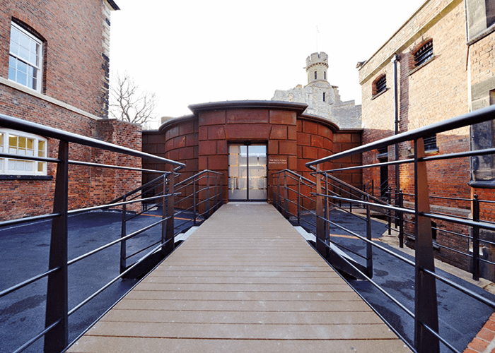 Lincoln Castle Vault, home to the Magna Carta. Image courtesy of Advanced.