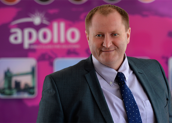 Apollo appoint Ed Browning as Sales & Marketing Director EMEA