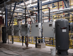 The Victaulic Vortex 1000 and 1500 Fire Suppression Systems are designed for power, automotive, oil and gas, and other industrial applications.